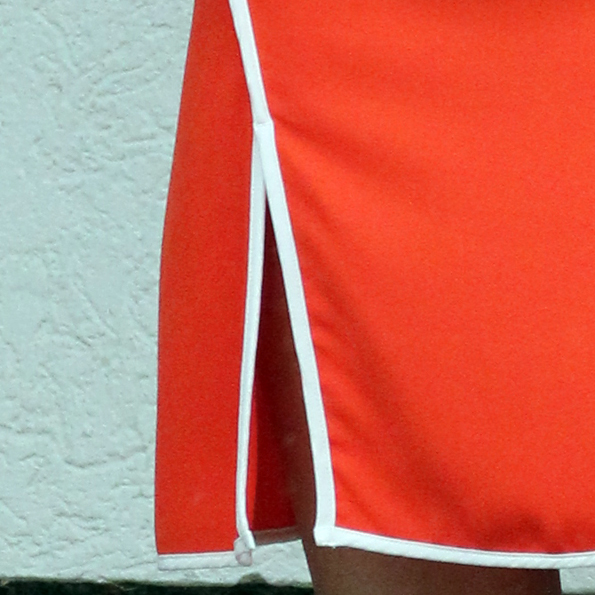 10 kleid orange
