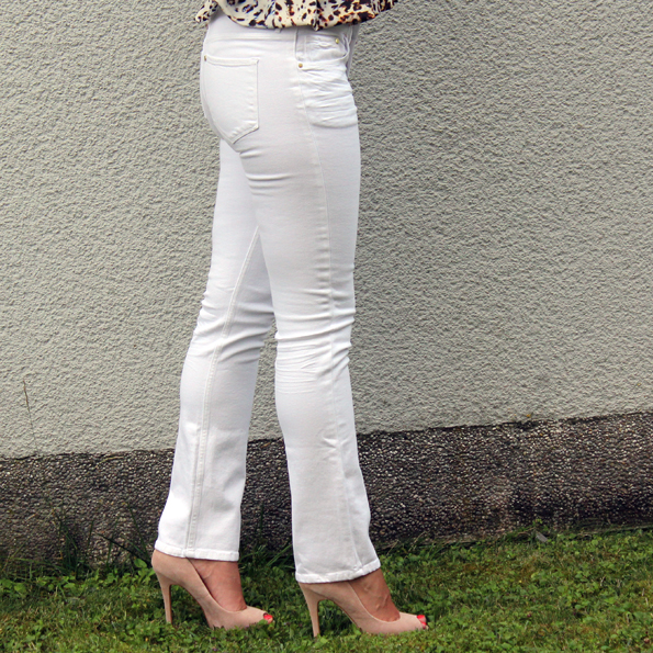 Top Tony3Jeans weiß