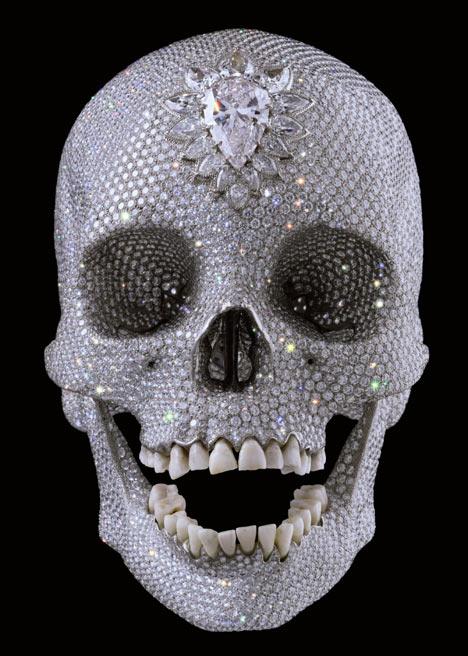 Skull Damian Hirst